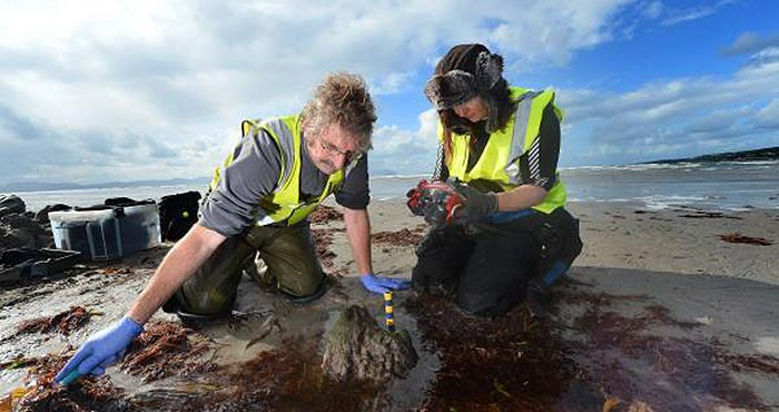 17th century shipwreck Kerry underwater archaeologists
