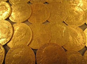 Gold Coins Archaeology Ireland